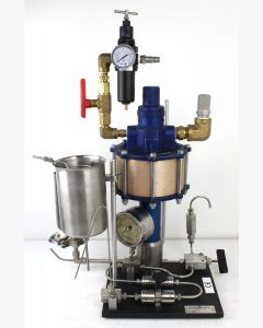 Microfluidics M-110Y Microfluidizer Processor for Micro-Mixing