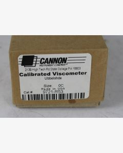 Cannon Ubbelohde Viscometer Size 0C (Calibrated)