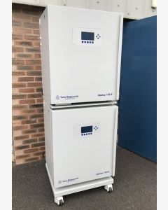 Pair of  Eppendorff New Brunswick Galaxy 170R CO2 Incubators with frames and casters