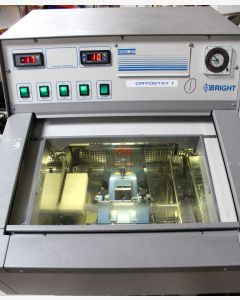 Bright OTF Refrigerated Cryostat. with Microtome.