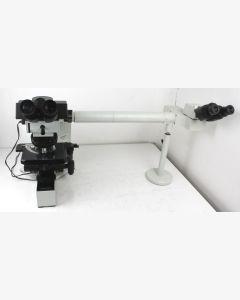 Olympus BX40 (Model BX40F4) Compound Trinocular Microscope
