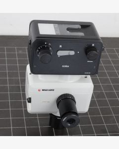 Wild Leitz MPS52 Microscope adapter with 445110 35mm Camera