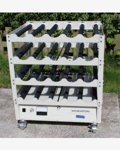 Wheaton 4 Deck Modular Roller Apparatus