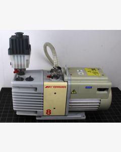 Edwards RV8 Oil Sealed Rotary Vane Vacuum Pump