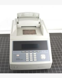 PE GeneAmp 9700 PCR - Thermal Cycler   The Applied Biosystems GeneAmp 9700 PCR System is a flexible high throughput thermal cycler with exceptional heating and cooling uniformity. The 9700's interchangeable sample blocks let you quickly change throughput